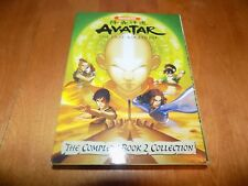 NICKELODEON'S AVATAR THE LAST AIRBENDER COMPLETE BOOK 2 COLLECTION NICK DVD NEW