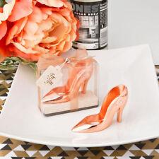 Rose Gold Shoe Bottle Opener Favour