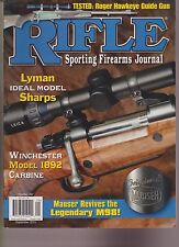 RIFLE SPORTING FIREARMS JOURNAL MAGAZINE SEPTEMBER 2015.