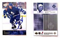 Phil Housley Signed 2003-04 Upper Deck #182 Card Toronto Maple Leafs Autograph