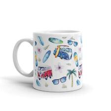 VW Campervan Surfing Mug Surf Bus Summer Gift Dad Son Kids Cool Coffee Tea #8197