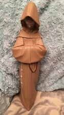 "Early Lladro Fransiscan Monk in Prayer Matte Finish Model No 2060 13.5"" Tall"