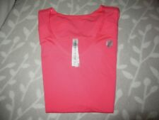 Lorna Jane Active Sports jogging work out Neon pink orange V neck sz XS exc.cond