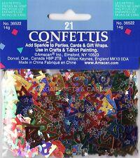 3 Pack 21 Cumpleaños Confeti Multi Decoración De Mesa Ideal Para Fiestas (multi)