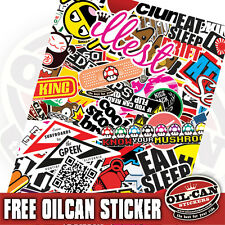 2xA3 sticker bombing sheet - limited edition mr oilcan exclusive stickerbombing