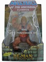 He-Man 2nd MOTU Masters of the Universe Classics He Man MOC NEU & OVP MOTUC