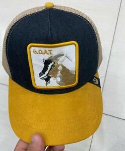 2021 Goorin Bros  Baseball Cap Trucker Snapback Hat Adjustable Animal GOAT# 0