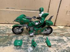 1998 Bandai Power Rangers Green Astro Bike Lost Galaxy Motorcycle And Ranger