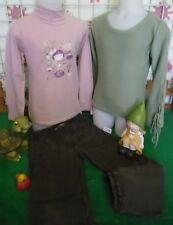 vêtements occasion fille 6 ans,pull,sous-pull SERGENT MAJOR,pantalon