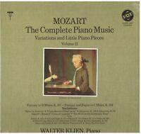 Mozart: Musik Für Klavier V.2 (Variation E Kleine Stücke) / Walter Klien LP