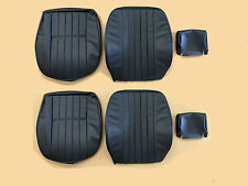 PORSCHE 911  SEAT COVER SET  VINYL PLAIN INSERT FROM 1972 TO 1973