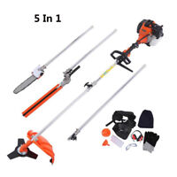 52cc Heavy Duty 5in1 Multifunction Petrol Trimmer Grass Trimmer 2 stroke Outdoor