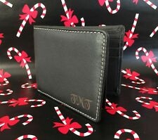 1 Personalized Engraved Custom Genuine Leather wallet for men- Graduation gift