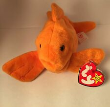 AUTHENTICATED by Becky's True Blue Beans-Goldie 4023 TY Beanie Baby 11-14-94 PVC