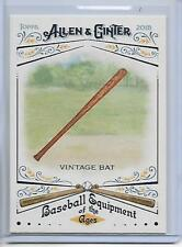 2018 Topps Allen & Ginter Vintage Bat Baseball Equipment Of The Ages