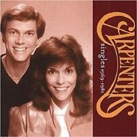 "THE CARPENTERS ""SINGLES 1969-1981"" CD NEU"