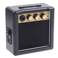 PG-3 3W Mini Electric Guitar Amp Amplifier Speaker Volume Tone Control US #AD
