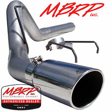 "MBRP S6120AL 4"" FILTER BACK DIESEL EXHAUST 2007-2009 DODGE RAM 2500 3500 6.7L"