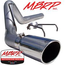 "MBRP S6120AL 4"" FILTER BACK DIESEL EXHAUST 2007-2009 DODGE RAM 2500 3500 6.7L"