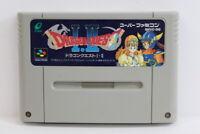 Dragon Quest I II 1 2 SFC Nintendo Super Famicom SNES Japan Import US Seller