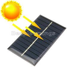 1PCS 6V 1W módulo de panel solar Hazlo tú mismo para teléfono celular de la batería de luz Juguetes Cargadores