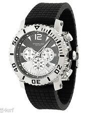 Stührling Original Men's Mariner Chronograph 806C.331613 Rubber Strap Watch