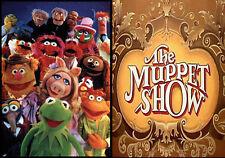 The Muppet Show Keychain-Kermit Miss Piggy Gonzo Statler Waldorf