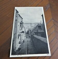 VINTAGE POSTCARD FALMOUTH QUAY HILL CORNWALL 1956