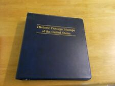 Historic Postage Stamps of the United States binder Mystic Stamp Co 2012 unused