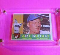 1960 Topps Art Schult #93 Chicago Cubs NmMt High Grade
