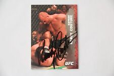 RANDY COUTURE SIGNED 2009 TOPPS UFC ROUND 2 THE NATURAL MMA AUTOGRAPH AUTO