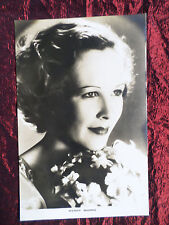 WENDY BARRIE - MOVIE STAR - FILM WEEKLY  POSTCARD - SEPIA COLOUR