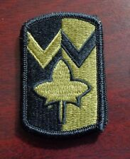 U.S. ARMY PATCH, SSI, SCORPION,MULTICAM, 4TH SUSTAINMENT BRIGADE,WITH VELCR