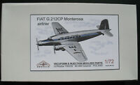 BROPLAN MS-161 - FIAT G.212CP Monterosa Airliner - 1:72 Vacuform & Injection Kit