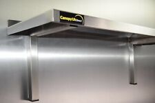More details for stainless steel shelf 1200x300mm for commercial kitchens workshops and stores