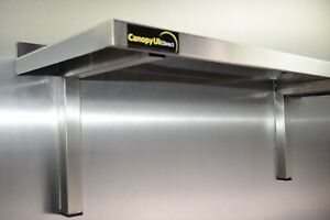 Stainless Steel Shelf 1200x300mm for Commercial Kitchens Workshops and Stores