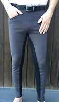 Mens Grey Jodhpurs, Mens Horse Riding Pants Sizes 28, 30, 32 34 36 38