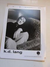KD LANG  8x10 photo b