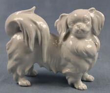 Japan Chin pekinese Figur Hund hundefigur augarten wien Porzellanfigur