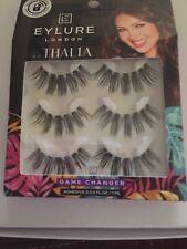 Eyelure False Eyelashes Thalia Game Changer Reusable Adhesive Included- 3 Pack