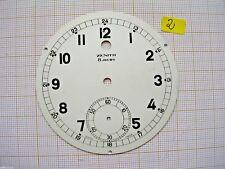 Cadran dial pendule pendulette ZENITH Uhr,montre 8 jours 71 mm Zifferblatt N2