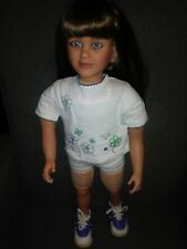 "My Twinn doll 2006 1997, poseable 23"" -  Brown long Hair, Blue Eyes."