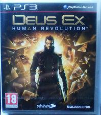 DEUS EX HUMAN REVOLUTION. JUEGO PARA PLAYSTATION 3 PS3.PAL-ESP.NUEVO,PRECINTADO.