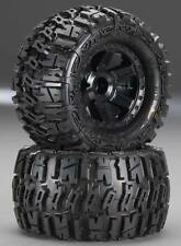 "Pro-Line 1170-12 Mounted 2.8"" Trencher Tires/Wheels Rear (2) Stampede Jato Rustl"