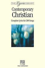 NEW The Lyric Library: Contemporary Christian: Complete Lyrics for 200 Songs