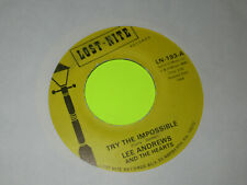 LEE ANDREWS AND THE HEARTS TRY THE IMPOSSIBLE / NOBODY'S HOME  45 7""