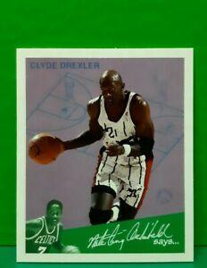 Clyde Drexler insert card Goudey Greats 1997-98 Fleer #2
