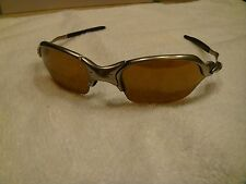Oakley Sunglasses  X Metal Romeo 2 Polished Titanium Frame with Gold Iridium len
