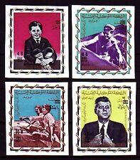 Yemen Kgr 1966 ** Mi.207/10 B Kennedy JFK