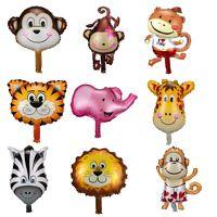 Animal Head Shape Foil Balloon Zoo Birthday Wedding Party Supplies Baby Decor